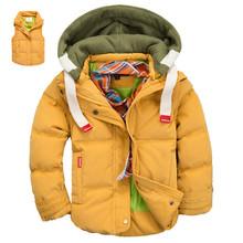 Klučičí zimní bunda s kapucí