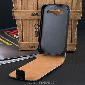 Hot Genuine Real Leather Flip Cover Case For HTC G13 Wildfire S A510e RCD03080