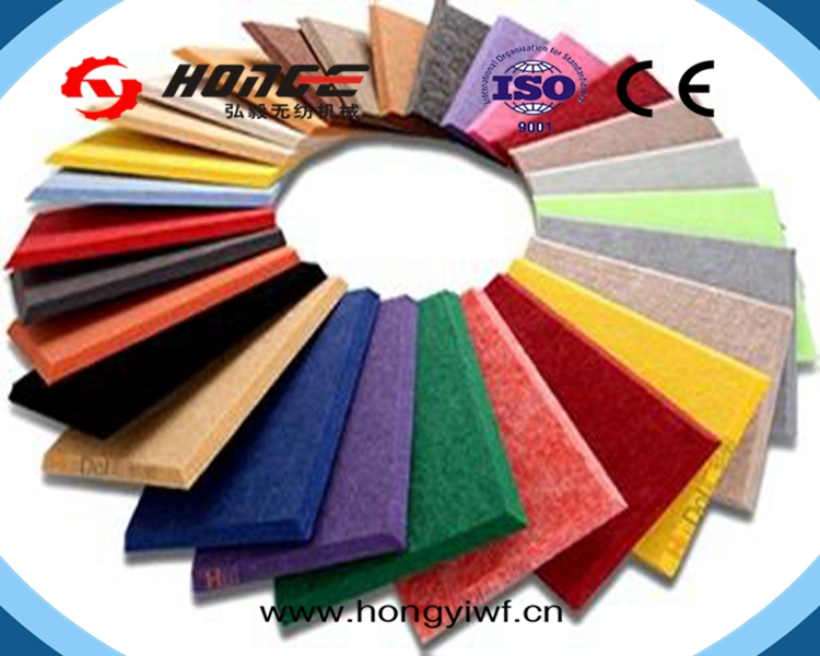 Changshu HongYi Sound Absorption Studio soundproof wall <strong>panel</strong> polyester fiber acoustic <strong>panel</strong>/acoustic board