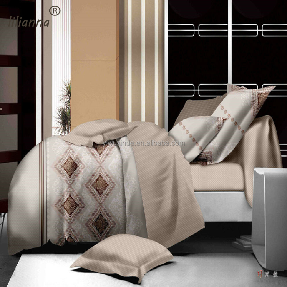 new design geometric luxury comfortable 3d bedding sets good quality bedding sets