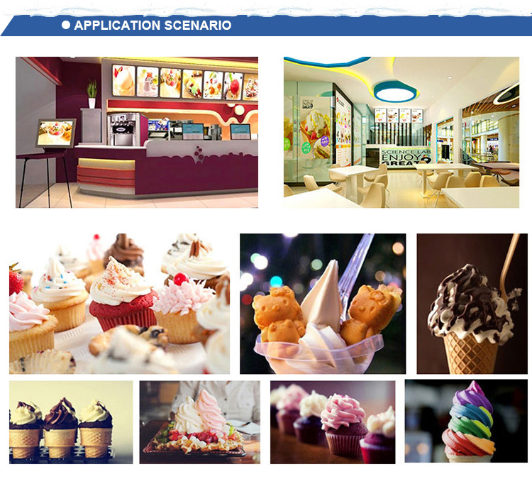 Factory sale Ice cream machine business in Europe