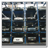 China Heavy Duty 3, 4, 5 Floors Vertical Car Parking Lifts Mutrade Parking Stable Heavy Duty 4 Post Parking Car Stacker