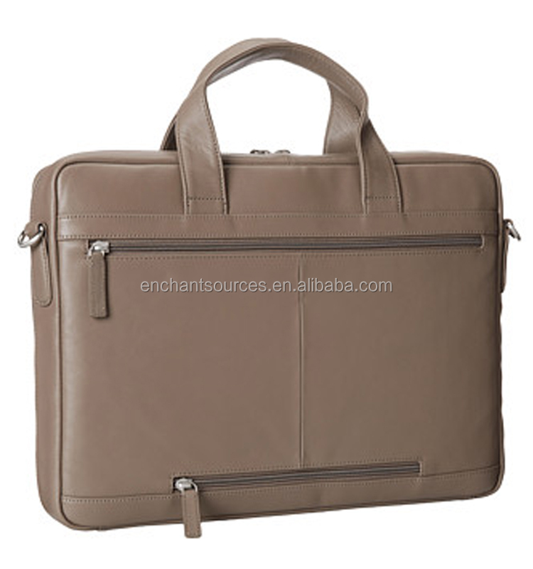 High quality leather laptop bag wholesale