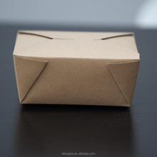 disposable Kraft paper Box large/storage with lid