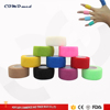 printed or skin color vetwrap non woven cohesive elastic bandage
