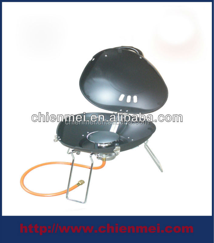 #1120 gas grill gas mini BBQ outdoor camping gardening portable patio shell cooker