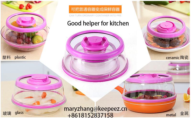 New Rose Color Pressdome Vacuum Food Sealer As Seen On Tv