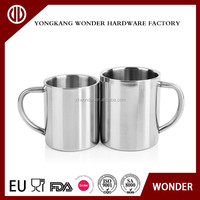 300ml double wall stainless steel theroms blank coffee mugs wholesale