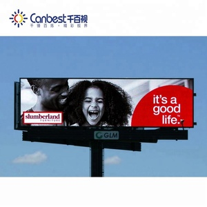 Outdoor road led advertising screens display board / p5 full color electronic led display video billboard for sale