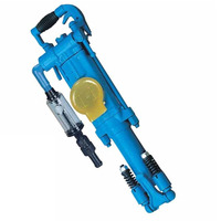 YT27, YT28 Pneumatic portable drilling machine/Hand held rock drill/jack hammer with ari leg