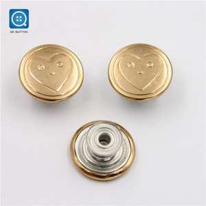 SK custom metal jean snap many kinds of shape button for shirt clothing garment bags accessories