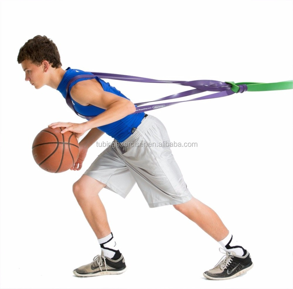 41inch Fitness Power Loop Bands for Basketball Resistance Bands Strength Training