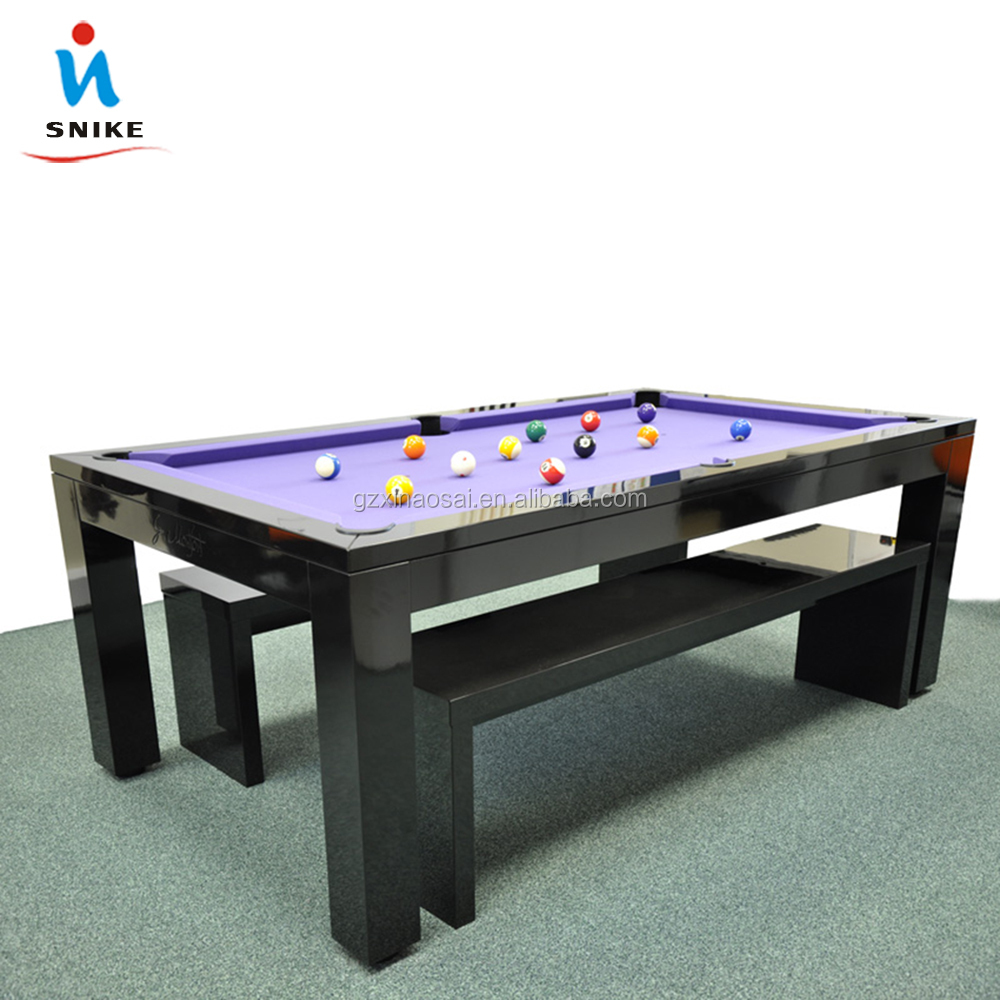 Convertible Dining Pool Table And Billiard Table - Buy Dining