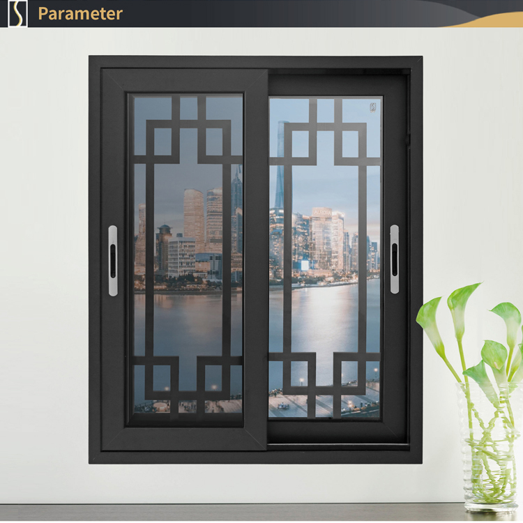 Simple aluminum windows grills design modern house aluminum sliding glass windows