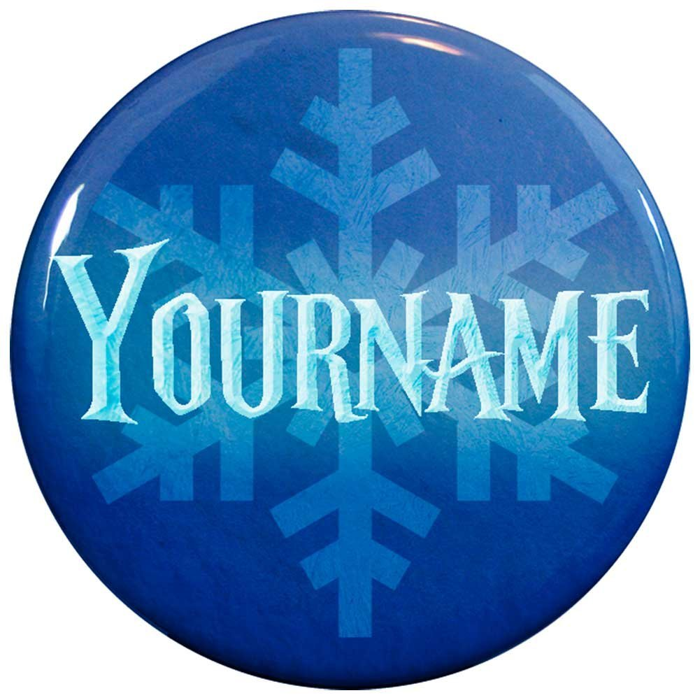 Buttonsmith® Custom Winter Ice Name Tag