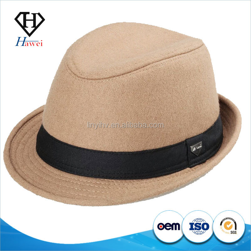Fashion Unisex Borsalino Fedora Panama Hat Trilby 100%wool - Buy ... 94ce713a0fd5