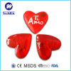 PVC heart shape reusable gel heat pack hand warmer