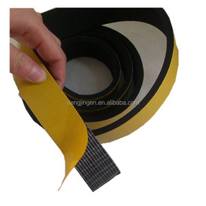 Customize Adhesive Back Waterproof Fireproof Closed Cell CR/NBR/EPDM/SBR Neoprene Foam Rubber Sheet