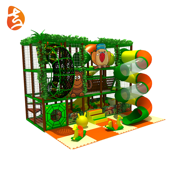Mini modern kids used plastic indoor playground equipment sale