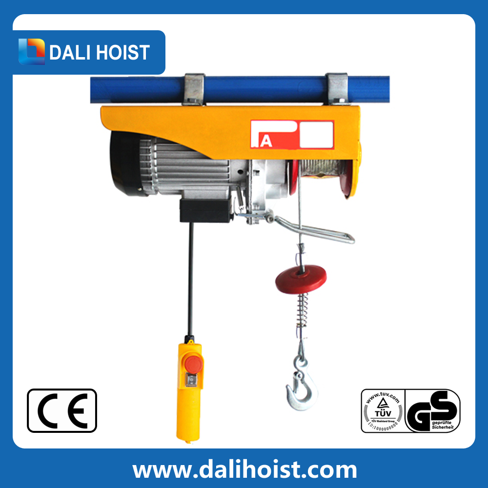 New technology mini electric hoist/micro electri wire rope hoist for sale