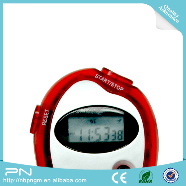 2018 Hot Selling Beauty Red Sport Stopwatch with Lanyard