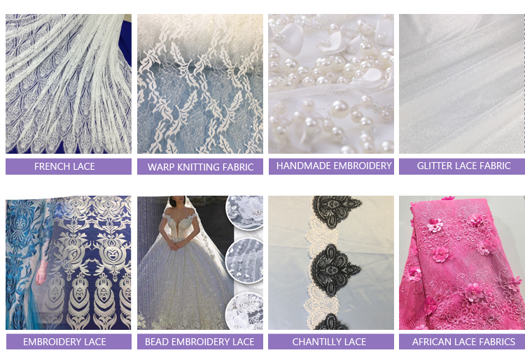 Factory Turkey Multi-Color Appicot Embroidered Fabrics,  Net Mesh Flowers With Pearls Lace Fabric for fashion Show