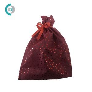 High Quality Non-Woven Eugen yarn Drawstring Gift sets Wrapping decoration for Candy biscuits
