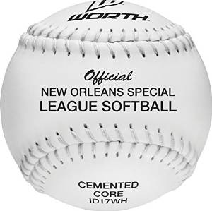 Box of 12 Rawlings deBeer Clincher Softball W10188