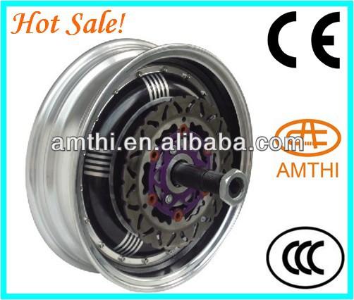 Electric Wheel Hub Motor Car For High Single Shaft Brushless Dc