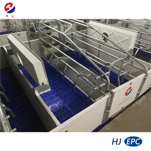 Galvanized Farrowing Crate/Stall for Mother Pigs-Pig Farming Equipment/Animal Cage