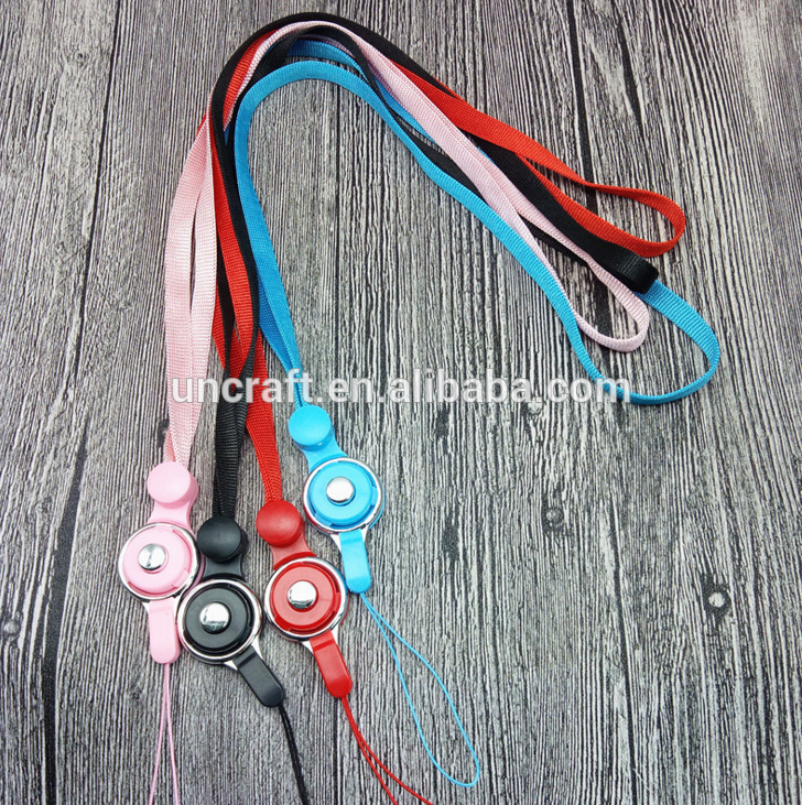 New Style Nylon Badge Reel Lanyard Mobile Phone Neck Lanyard for Girls
