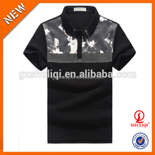 Custom t shirt printing polo shirts for men/popular style man cotton spandex polo t-shirt/wholesale us polo shirts