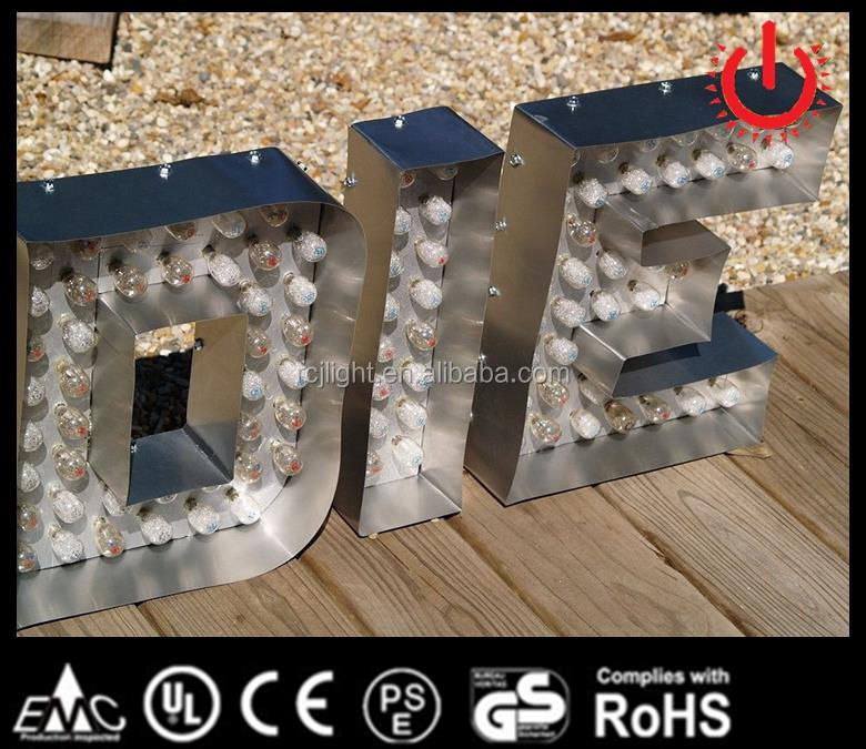words logo steel frame