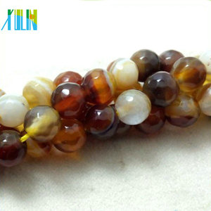 round faceted various jade beads gemstone for jewelry
