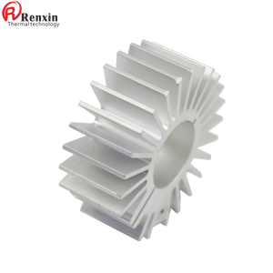 AL 6063 extrusion aluminum sunflower heatsink