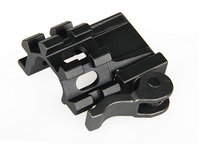 22-0222 Tactical Military Hunting Air Gun Rifle Scope Weapon Mount Quick Detachable Scope Angle Mount