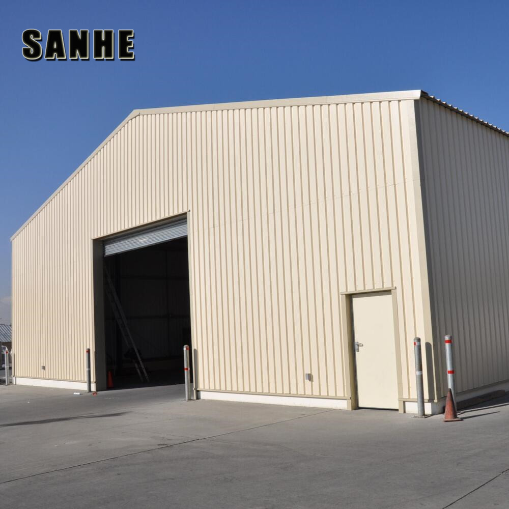 insulated light frame prefabricated warehouse kit manufacturer China