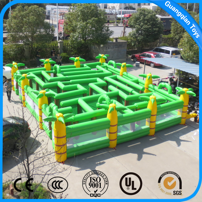 Outdoor Coco Giant Inflatable Maze the Labyrinth Game for Kids