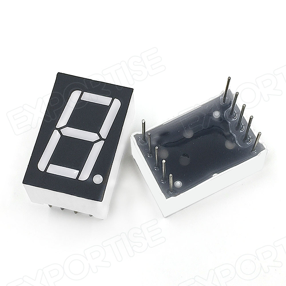 High Quality 03 Inch 7 Segment Display 1 Digit Led Nixie Tube Buy The Each Symbol Into 7segment It May Look Like This Displaynixie Tube03 Number Product On