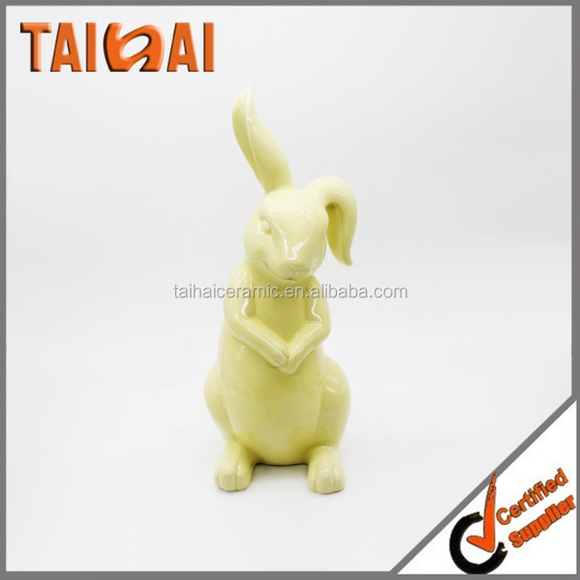 China ceramic easter gift wholesale alibaba latest ceramic festival gift items with easter bunny negle Image collections