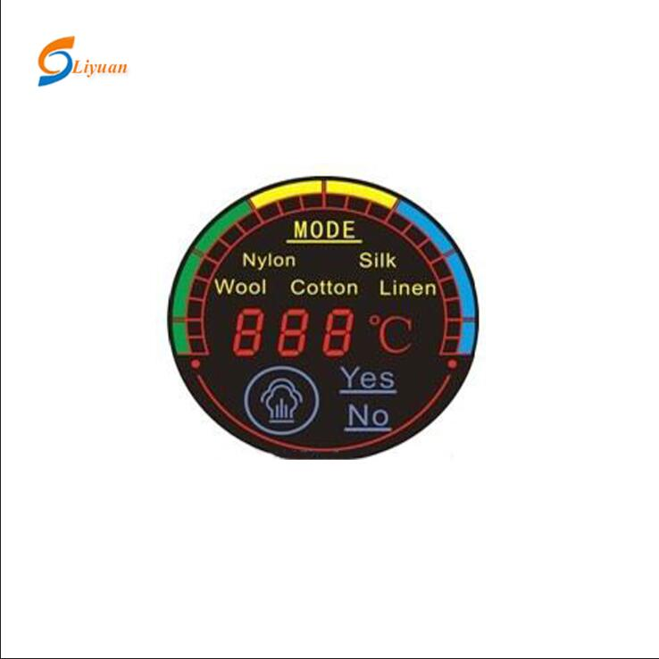 Round 투명 e-ink oled lcd display