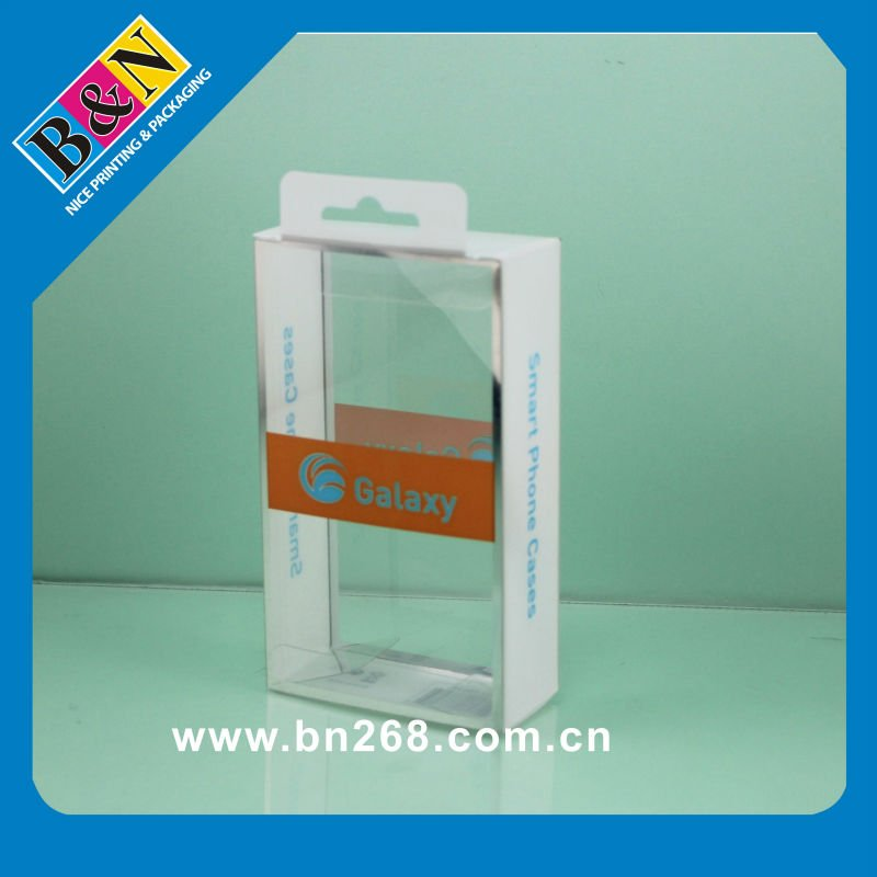 PET Plastic Package For Cellphone Cases With Hanger