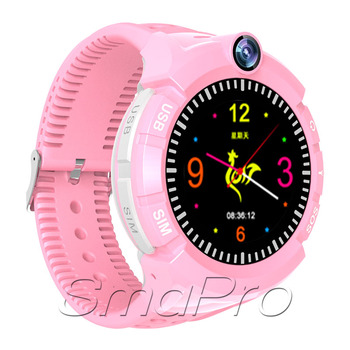"SIM Card Smart Watch for Kids Girls Boys GPS Watch Phone 1.4"" Touchscreen Child Smartwatch Learning Toys with Camera"