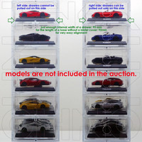 Acrylic Storage / Display Case - 6 Drawer For 1:64 Kyosho Minicar ...