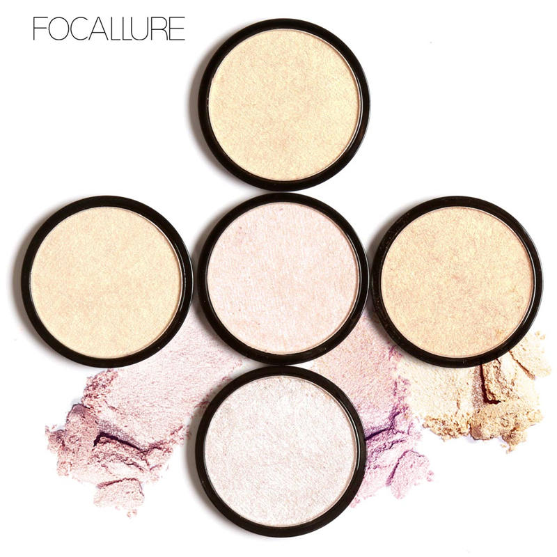 Best quality powder highlighter make your own brand natural cosmetic private label makeup highlighter