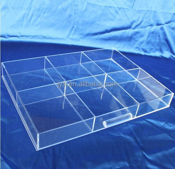 Removable grid divider acrylic drawer dividers for sale