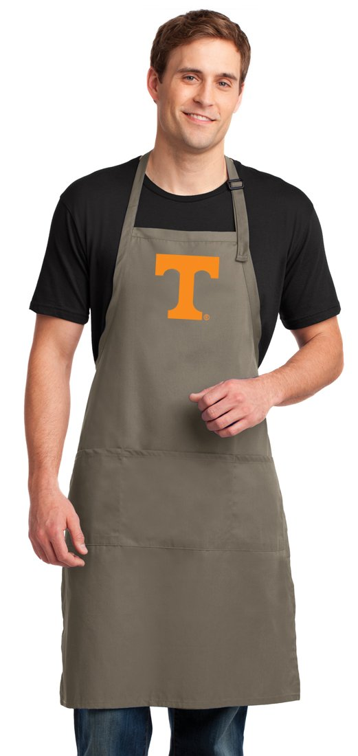 Tennessee Vols Apron LARGE SIZE University of Tennessee Aprons For Men or Women