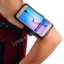 For Samsung Galaxy S6 value case,2 in 1 detachable sports armband for Samsung S6