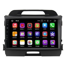 9 zoll Android 8.0 Auto DVD player für KIA sportage 2011 <span class=keywords><strong>2012</strong></span> 2013 2014 2015 gps navigation 1 din head unit