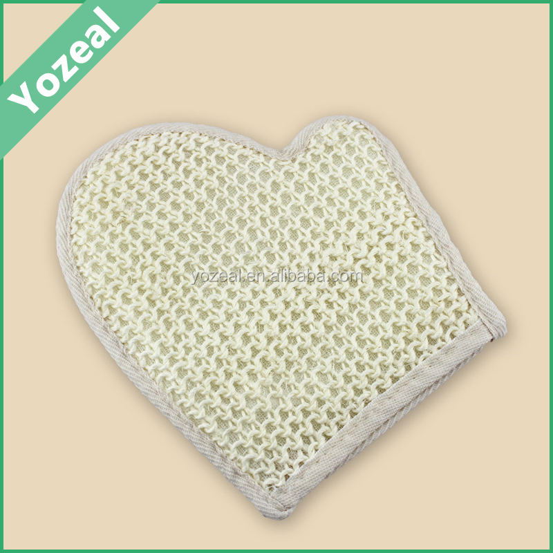 Natural sisal bath body scrubber manufacturer